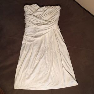 Strapless Off white Express Dress (with straps)